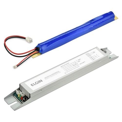 Driver de Emergência para Lâmpada Tubular LED T8 8-18W 48DELED18W00 Elgin