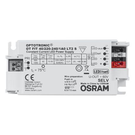 DRIVER OSRAM 40w OT FIT 40/220-240/1A0 LT2 S