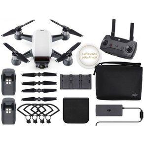 Drone DJI CP.PT.000909 Spark Fly More Combo White Alpine C/ Rádio Controle