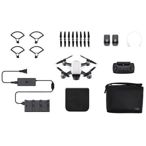 Drone DJI Spark Fly More Combo, GPS, Controle Remoto e Bolsa