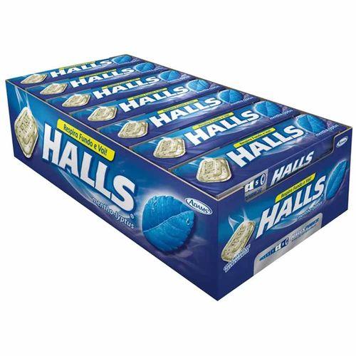 Drops Halls Mentol 21 Unidades 10827