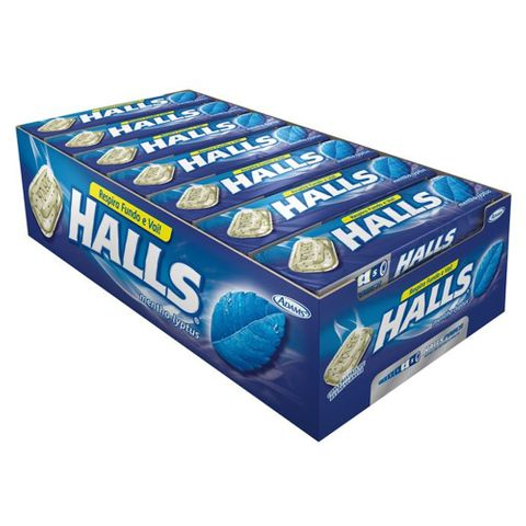 Drops Halls Mentol C/21 - Adams
