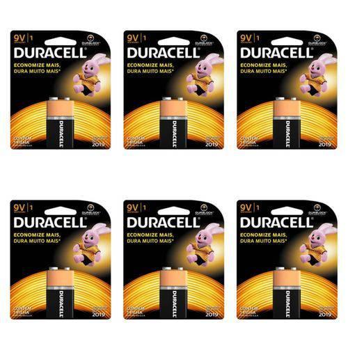 Duracell Bateria 9v (kit C/06)