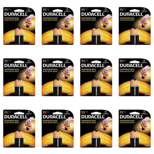 Duracell Bateria 9v (kit C/12)