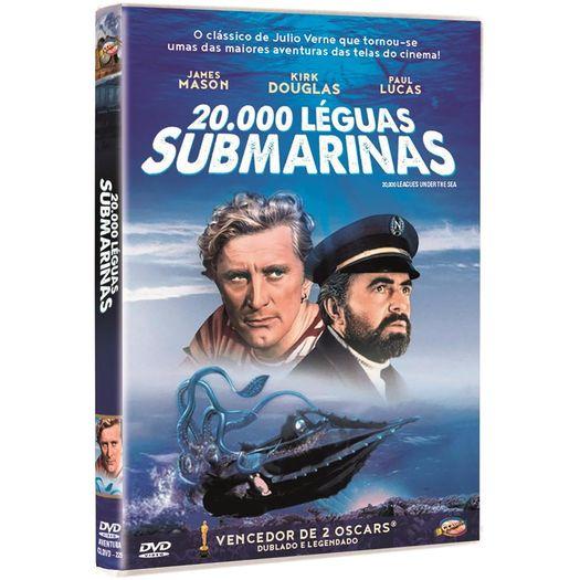 DVD 20.000 Léguas Submarinas