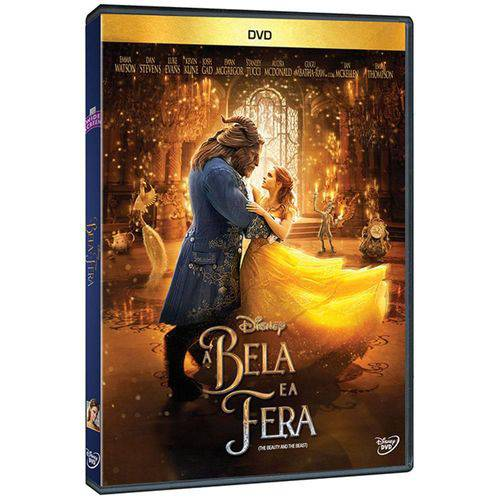 DVD a Bela e a Fera (2017)