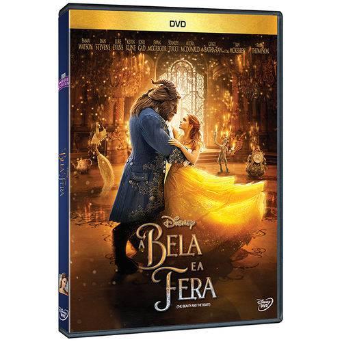 Dvd - a Bela e a Fera - 2017