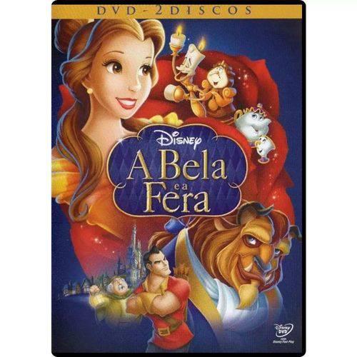 Dvd - a Bela e a Fera - Edição Especial Duplo