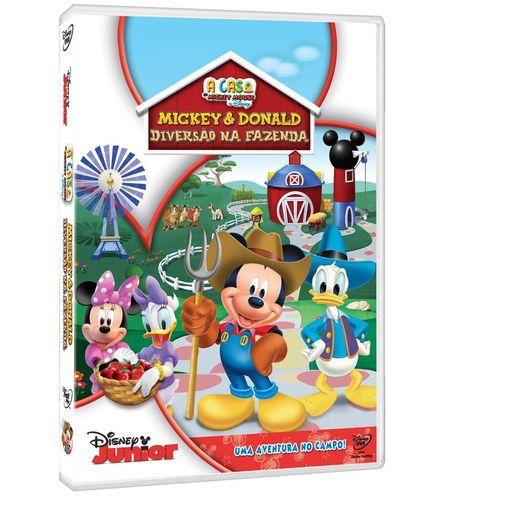 DVD a Casa do Mickey Mouse - Diversão na Fazenda