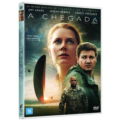 Dvd - a Chegada
