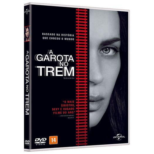 DVD a Garota no Trem