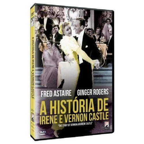 DVD a História de Irene e Vernon Castle - Fred Astaire