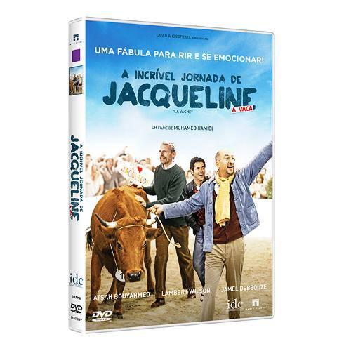 Dvd - a Incrível Jornada de Jaqueline: a Vaca