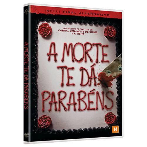 DVD - a Morte te da Parabéns