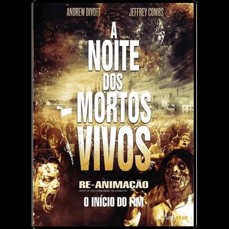 DVD a Noite dos Mortos Vivos: Re-Animação