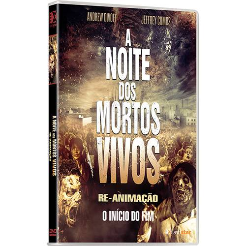 DVD a Noite dos Mortos Vivos