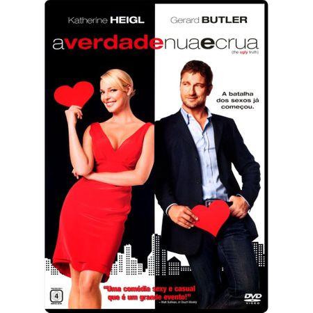 DVD a Verdade Nua e Crua