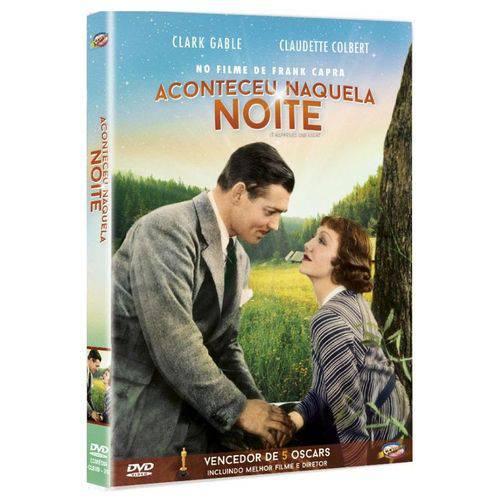 DVD Aconteceu Naquela Noite - Frank Capra