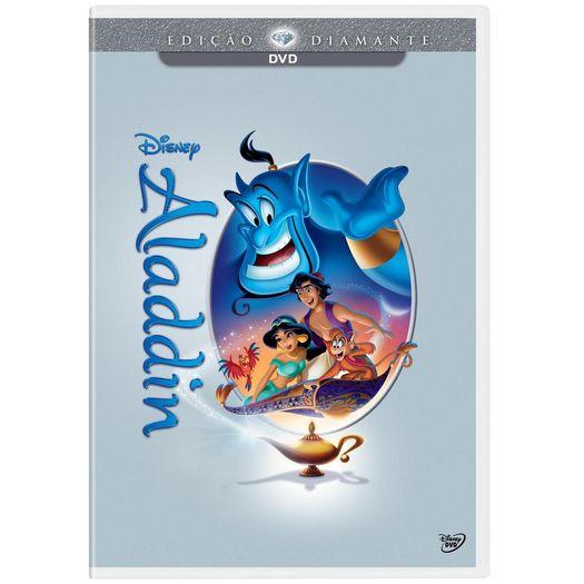 DVD Aladdin - Edição Diamante