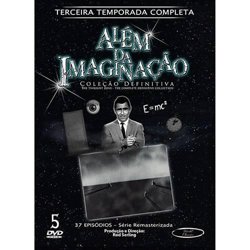 DVD - Além da Imaginação - Coleção Definitiva 3ª Temporada Completa (5 Discos)