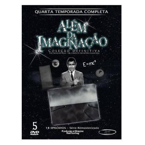DVD Além da Imaginação - Quarta Temporada Completa