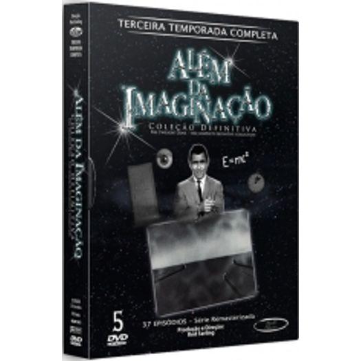 DVD Além da Imaginação - Terceira Temporada (5 DVDs)