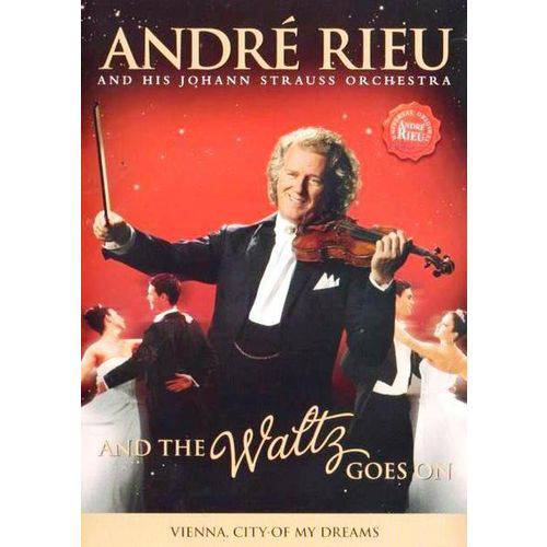 Dvd André Rieu - And The Waltz Goes On