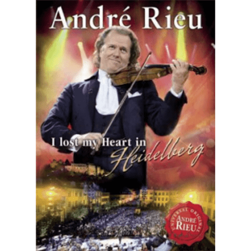 DVD Andre Rieu - I Lost My Heart In Heidelberg (2010)