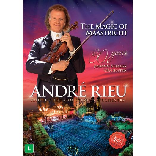 DVD André Rieu - The Magic Of Maastricht: 30 Years