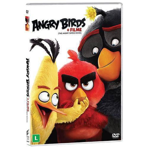 Dvd - Angry Birds: o Filme