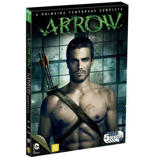 DVD Arrow - 1ª Temporada - 5 Discos