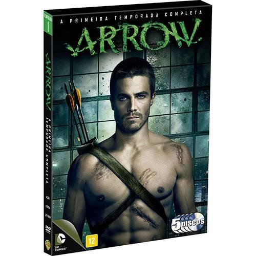 DVD Arrow - a Primeira Temporada Completa (5 Discos)