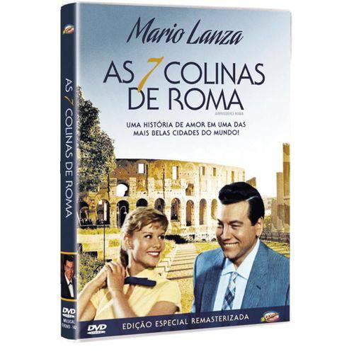 DVD as 7 Colinas de Roma - Mario Lanza