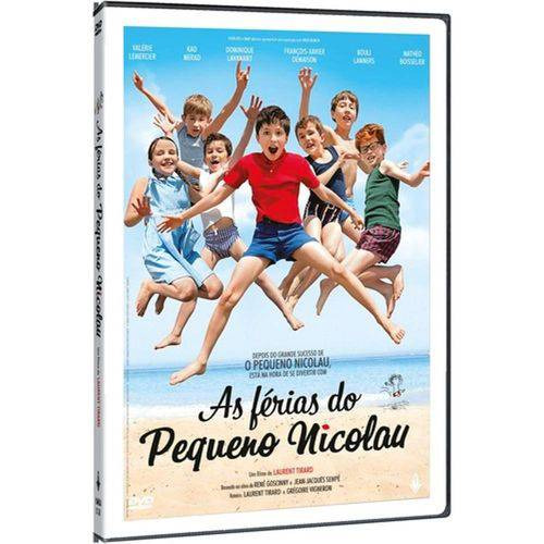 DVD as Férias do Pequeno Nicolau - Laurent Tirard