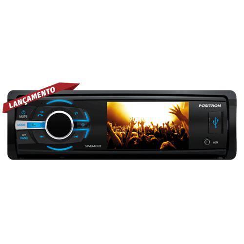 "DVD Player Automotivo Positron SP4340bt Bluetooth 3"""