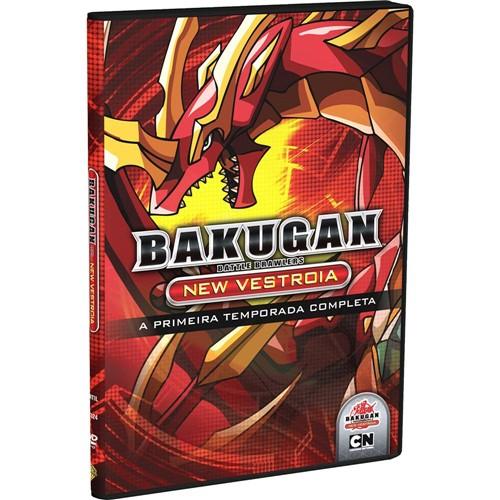 DVD Bakugan New Vestroia a - 1º Temporada