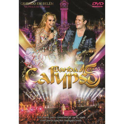 DVD Banda Calypso 15 Anos ao Vivo Belém Original