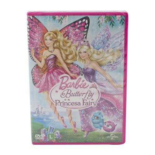 Dvd Barbie Batterfly e a Princesa Fairy