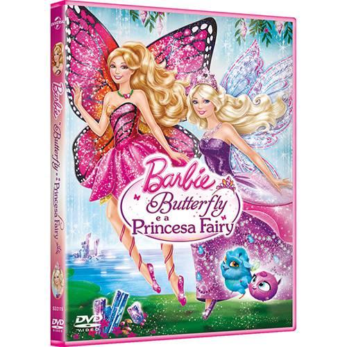 DVD Barbie Butterfly e a Princesa Fairy
