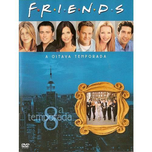DVD Box - Friends - Oitava Temporada Completa - LEGENDADO (4 Discos)