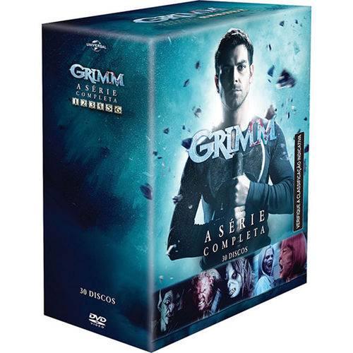 DVD Box - Grimm - da 1ª a 6ª Temporada