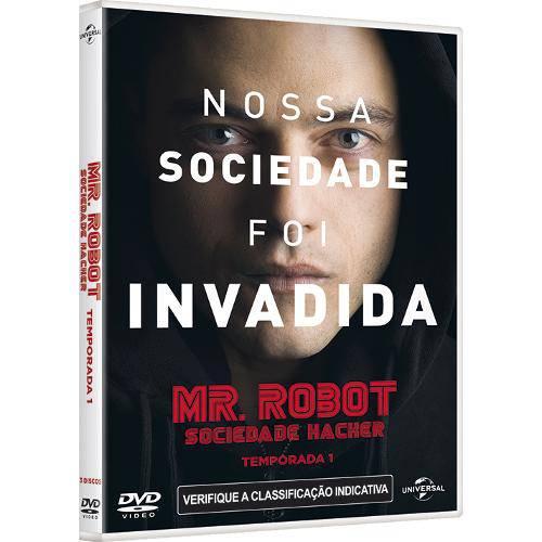 Dvd Box - Mr. Robot - Primeira Temporada