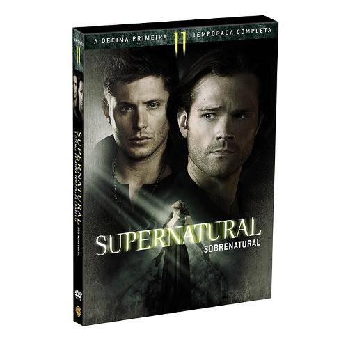 Dvd Box - Supernatural - 11ª Temporada