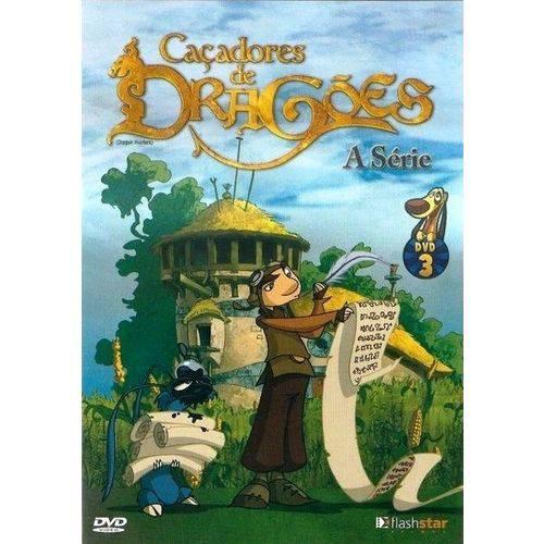 Dvd Caçadores de Dragões - a Série - Dvd 3