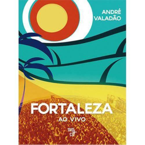 DVD + CD André Valadão - Fortaleza Ec
