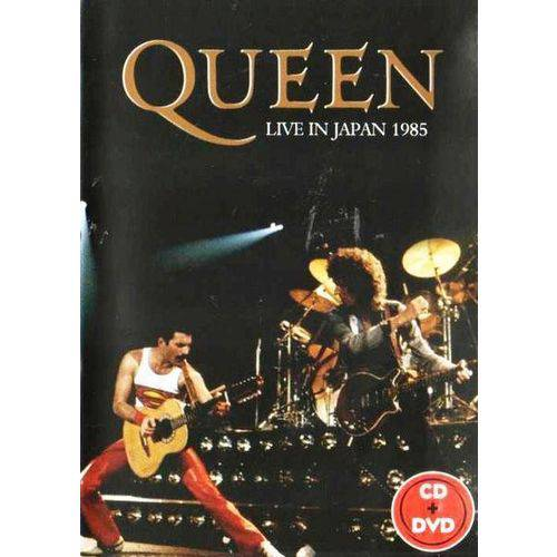 Dvd + Cd Queen Live In Japan 1985
