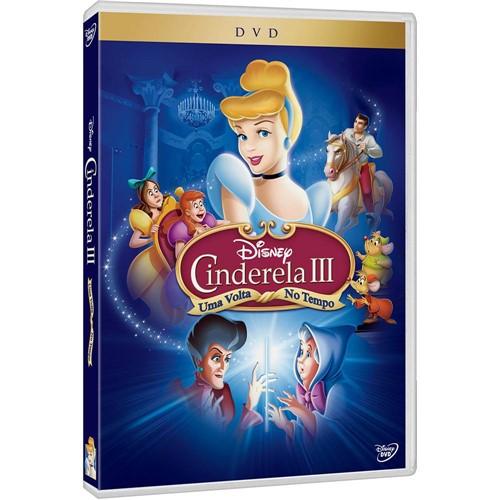 DVD Cinderela III: uma Volta no Tempo
