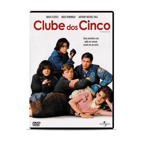 Dvd - Clube dos Cinco
