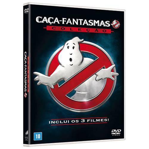 Dvd - Coleção Caça-Fantasmas
