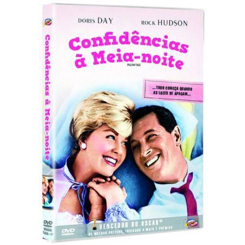 DVD Confidências à Meia-Noite